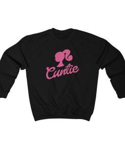 Cuntie Silhouette Sweatshirt For Unisex