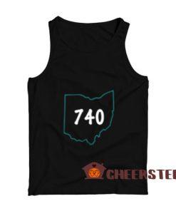 Area 740 Ohio Tank Top Joe Burrow S – 3XL