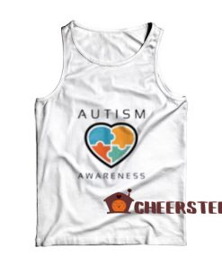 Autism awareness day Tank Top for Unisex
