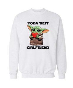 Baby Yoda Best Girlfriend Sweatshirt For Unisex