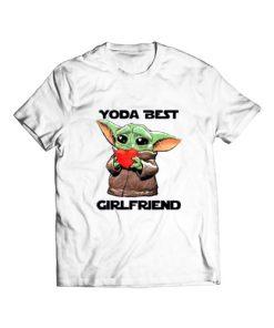 Baby Yoda Best Girlfriend T-Shirt
