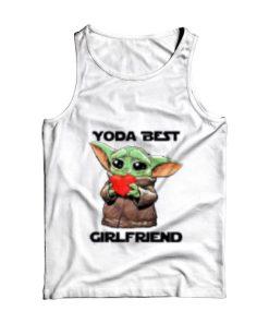 Baby Yoda Best Girlfriend Tank Top for Unisex