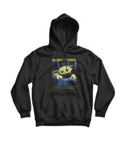Baby Yoda Star Wars Hoodie For Unisex
