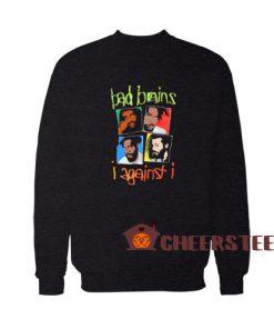 Bad Brains I Against I Sweatshirt Group Shot S – 5XL