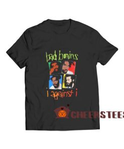 Bad Brains I Against I T-Shirt Group Shot S – 5XL