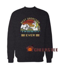 Best Dadacorn Ever Sweatshirt For Unisex