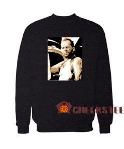Bruce willis Sweatshirt For Unisex