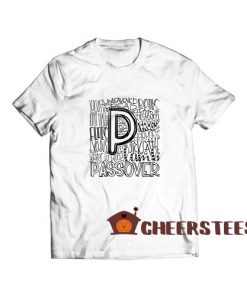 Passover Typography T-Shirt