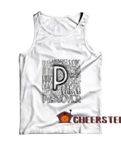 Passover Typography Tank Top for Unisex