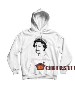 Queen elizabeth Hoodie For Unisex