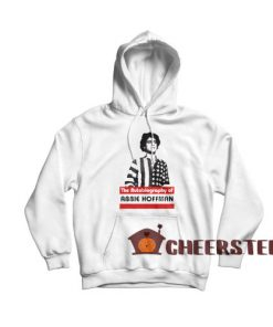 Abbie Hoffman Hoodie The Autobiography of Size S – 4XL
