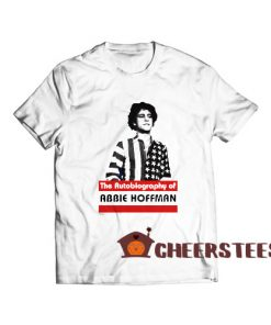 Abbie Hoffman T-Shirt The Autobiography of Size S – 5XL