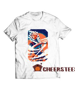 Ahsoka Tano Death T-Shirt Star Wars The Clone S – 5XL