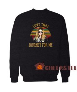 Alexis Rose Vintage Sweatshirt Love That Journey For Me S – 5XL