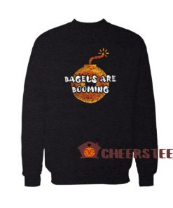 Bagels Are Booming Sweatshirt Donuts Bagels Size S – 5XL