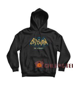 Batman In Color Hoodie TV Series Bat Logo Size S – 4XL
