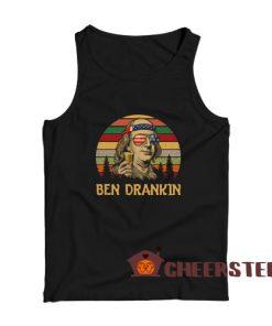 Ben Drankin Vintage Tank Top Benjamin Franklin America Size S – 3XL