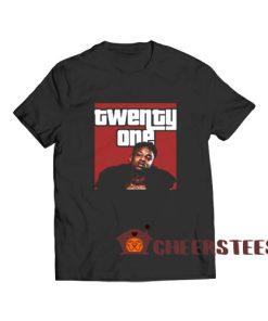 21 Savage ISSA T-Shirt Rap Hip Hop Size S – 3XL