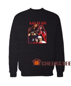 Aaliyah 1979 2001 Sweatshirt Memory Size S-3XL