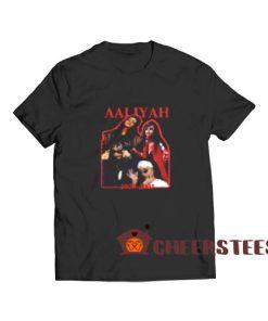 Aaliyah 1979 2001 T-Shirt Memory S-3XL