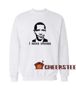 Barron Trump I Miss Obama Sweatshirt Classic Size S – 3XL
