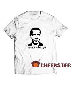 Barron Trump I Miss Obama T-Shirt Classic Size S – 4XL