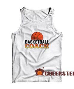Basketball Coach Jobs Tank Top Funny Coach Size S – 2XL