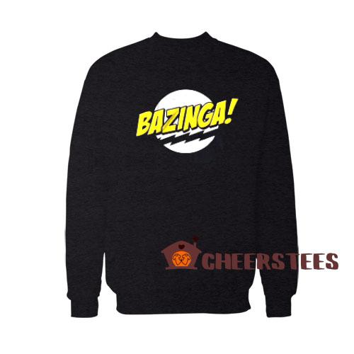 Bazinga The Big Bang Sweatshirt Theory Bazinga Size S – 5XL