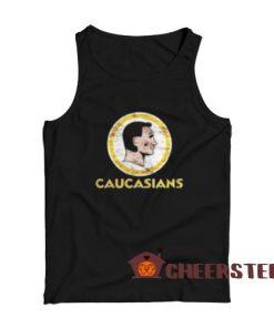 Caucasians Washington Redskins Tank Top Parody Size S – 2XL