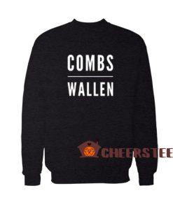 Combs Morgan Wallen Sweatshirt Country Music Active Size S – 3XL