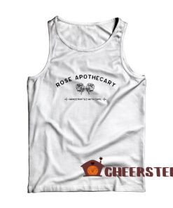 Rose Apothecary Tank Top Handcrafted With Care Size S – 2XL
