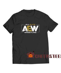 AEW All Elite Wrestling T-Shirt S-3XL