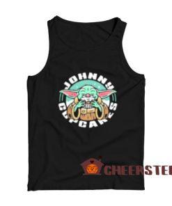Baby Yoda Johnny Cupcakes Tank Top Star Wars Size S-2XL