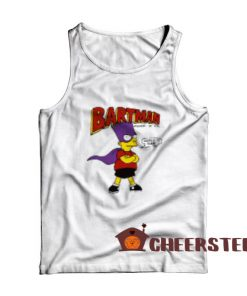 Bartman Avenger of Evil Tank Top The Simpsons Size S-2XL