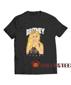 Britney Spears Yellow T-Shirt For Women And Men S-3XL