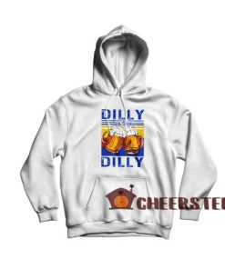 Dilly Dilly Drinking Beer Hoodie Vintage Size S-3XL