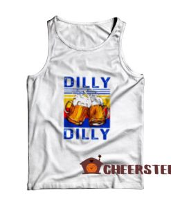 Dilly Dilly Drinking Beer Tank Top Vintage Size S-2XL