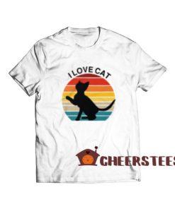 I Love Cat Essential T-Shirt Cute Cat