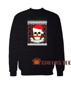 Santa Skull Christmas Sweatshirt Merry Christmas Gift For Unisex