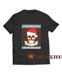 Santa Skull Christmas T-Shirt Merry Christmas Gift