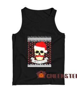 Santa Skull Christmas Tank Top Merry Christmas Gift For Unisex