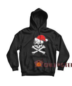 Skull Crossbone Christmas Hoodie Christmas Gift For Unisex