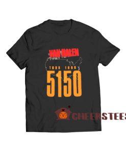 Van Halen 5150 T-Shirt Tour 19876