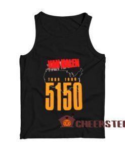 Van Halen 5150 Tank Top Tour 19876 For Unisex
