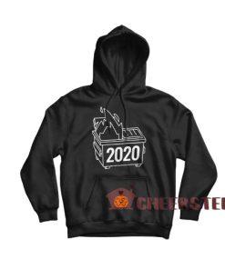2020 Dumpster Fire Hoodie Horrible 2020 Size S-3XL