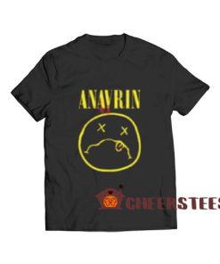 ANAVRIN Parody Logo T-Shirt Nirvana Parody