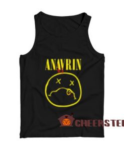 ANAVRIN Parody Logo Tank Top Nirvana Parody For Unisex