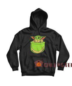 Baby Yoda Pocket Hoodie Star Wars For Unisex