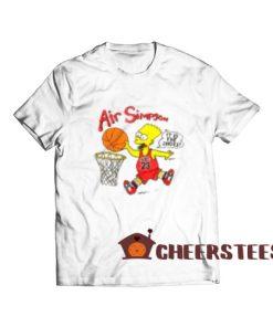 Bart Air Simpson T-Shirt Bart 1990s Chicago