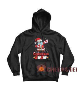 Christmas 2020 Toilet Paper Hoodie Santa Claus Wear Mask Quarantine Size S-3XL